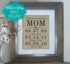 personalized mothers day gifts mothers day gift personalized s day gift from