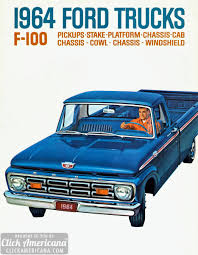 Vintage Ford Truck Decor - 64 ford pickups long on comfort click americana