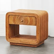 modern side tables and unique accent tables cb2