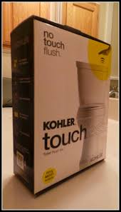 how to install a touchless naptime diy install the kohler touchless toilet flush kit