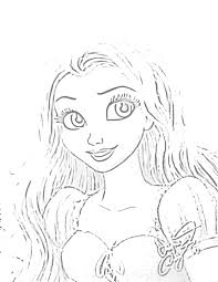 11 images of tangled coloring pages search disney princess