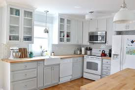 our updated gray and white kitchen makeover