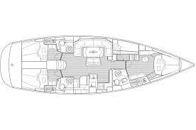 Interior Layout Baltimore Yacht Charters Bareboat Hire Inishbeg
