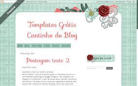 templates blogger personalizados template grátis flowers scraps cantinho do blog