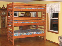 Wooden Bunk Bed Designs by Bunk Bed Service Provider From Mumbai