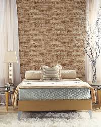 Bedroom Ideas Brick Wall Wall In A Box Wib1001 Hit The Bricks Wallpaper Brick Red Rust