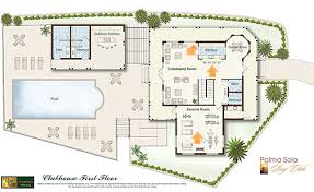 Open Floor Plans Home Plans With Pool House Plan Hits Every - Home design floor plan