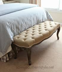savvy southern style the tufted bench