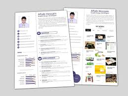 2 Page Resume Sample by 15 New And Free Creative Resume Templates