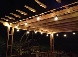 Edison Bulb Patio String Lights Big Bulb Patio String Lights Interior Design Ideas