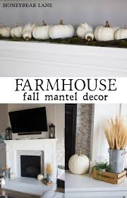 fall mantel decor honeybear lane