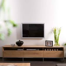 Tv Wood Furniture Design Ethnicraft Ligna Oak Tv Units Solid Wood Furniture