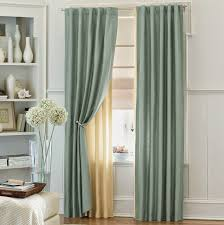Window Valances Ideas Bedroom Beautiful Green Beige Wood Glass Unique Design Curtain
