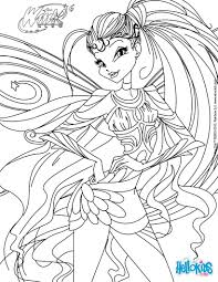 stella transformation bloomix coloring pages hellokids com