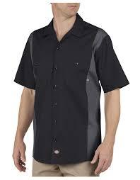 industrial color block sleeve shirt mens shirts dickies