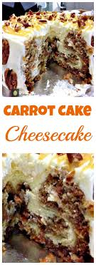 carrot cake cheesecake for thanksgiving easter