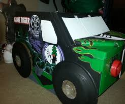 grave digger monster truck fabric grave digger monster truck costume 12 steps