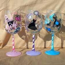 wine glass with initials design wine glasses airdreaminteriors