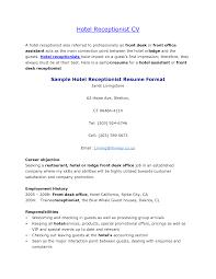 Sample Resume For Hotel Management Job by Job Hotel Job Resume