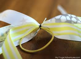 ribbon ponytail how to make ponytail ribbons for pony os my frugal