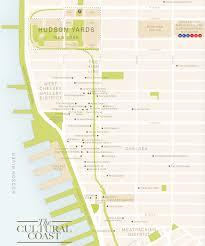 Hudson River Map Location Hudson Yards
