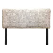 buy towers upholstered headboard size twin color orange