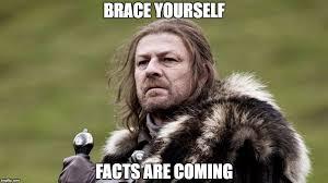 Meme Brace Yourself - brace yourself facts are coming meme