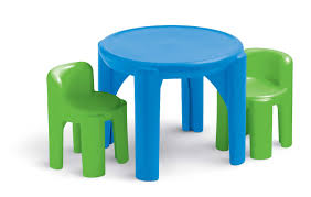 amazon childrens table and chairs amazon com little tikes bright n bold table chairs green blue