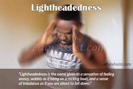 when i cough i get light headed lightheadedness what can make you feel light headed