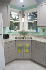 mitchell grey painted kitchen u2014 sylvester cabinetry