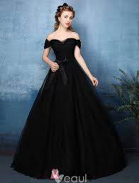 beautiful dress beautiful simple gown the shoulder sweetheart black tulle