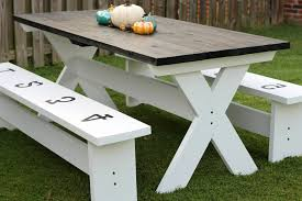 build a picnic table cost to build picnic table lovely how to build a farmhouse picnic