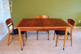 Found Mid Century Lane Acclaim Dining Table And Chairs The - Lane furniture dining room
