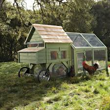 mobile chicken coop backyard custom mobile chicken coop for