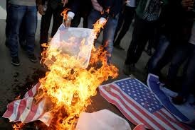 Burning A Flag Reuters Commentary The Terrible Cost Of Trump U0027s Jerusalem