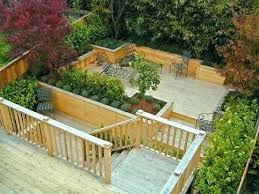 Terraced Patio Designs Terraced Patio Designs Terraced Deck A Garden Decking Designs For