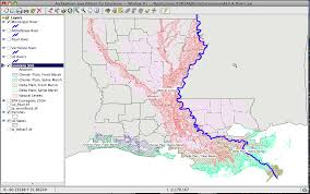 Map Of The Mississippi River Using Aejee To Study Rivers