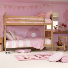 cute bunk beds for girls impressive pink room design for little girls with oak cool bunk