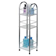 Shelf For Bathroom by Bathroom Shower Caddy With Triple Shelves For Bathroom Decor Ideas