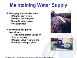 Challenge Of Water Challenges In Water Management And Information Management