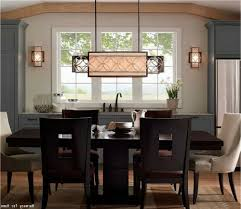 dining room linear chandelier dining room with delightful dining