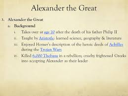 outcome alexander the great u0026 hellenistic culture ppt video