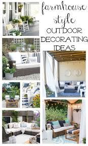 25 best farmhouse outdoor decor ideas on pinterest rustic