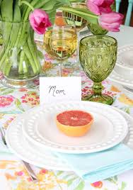 table setting pictures mother u0027s day brunch table setting a pretty life in the suburbs