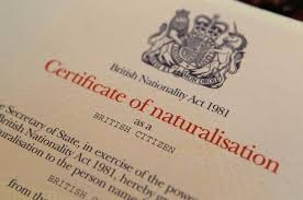 bureau naturalisation requirements for naturalisation as a citizen