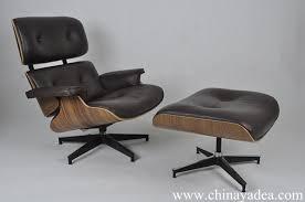 Herman Miller Eames Lounge Chair Replica Walnut Choco Brown - Designer chairs replica