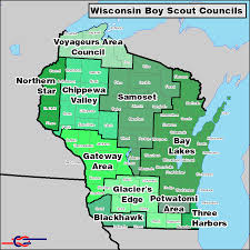 Map Of Central Wisconsin by Scouting In Wisconsin Wikipedia