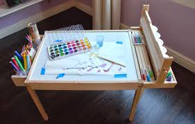 diy kids craft table design ingenuity