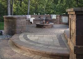 Outdoor Stone Firepits by Multi Dimensional Fire Pit Patios That Add Flare To Outdoor Living