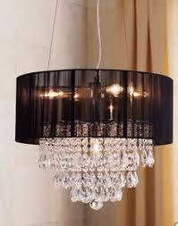 Shaded Crystal Chandelier Luxe Crystal Chandelier Hanging Lamps Lighting Decor Z